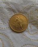 Сеятель / червонец 1923 года СССР золото 8,6 грамм 900` photo 3