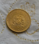 Сеятель / червонец 1923 года СССР золото 8,6 грамм 900` photo 12