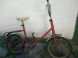 """Детский велосипед 60-х годов. Похож на ранний """"Дружок"""""""