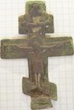 Крест 18 ст. мог быть наперсным и киотным