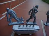 Оловянные солдатики, матросы, 12 шт photo 2