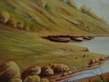 Морской пейзаж, Богданов, 1940г photo 3