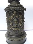 Керосиновая лампа, бронза