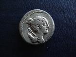 Республиканский денарий Постумия, 74 г. до н.э.