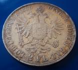 Австро - Венгрия 2 флорина ( гульдена ) 1885 г. серебро AU+ photo 5