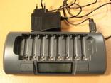 Зарядное на 8 батареек MAHA-C800S