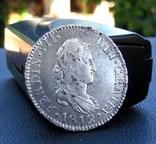 2 Реала 1812 р. Фердинанд 8 Іспанія photo 3