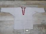 Покутська чоловіча конопляна сорочка, фото №4