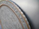 Старинный Большой Арабский рaзнос , стол ( Ручная работа ) вес 4,1 кг photo 7