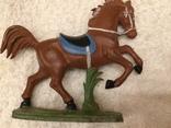Конь 7 из серии индейцы ковбои ГДР photo 1
