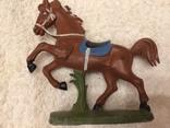 Конь 7 из серии индейцы ковбои ГДР photo 2