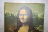 Репродукция на подрамнике. Мона Лиза, Джаконда. 35х50см. ГДР photo 3