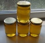Мед з домашньої пасіки (травневий+акація 2 л.,чиста вага меду 2.8кг.) photo 1
