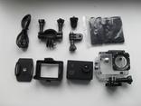 Экшн камера Sports Action Camera полный комплект
