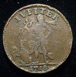 Швеция 1 далер 1718 Юпитер photo 2