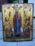 Икона Божией Матери «Всех скорбящих Радость» 44х35.5х2.6см photo 1
