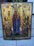 Икона Божией Матери «Всех скорбящих Радость» 44х35.5х2.6см photo 3