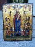 Икона Божией Матери «Всех скорбящих Радость» 44х35.5х2.6см photo 4