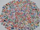 Лот иностранных марок 400 шт.