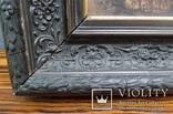 """Старинная картина в рамке """"Украиночка с зеркальцем"""" подписная. photo 7"""
