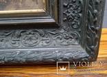"""Старинная картина в рамке """"Украиночка с зеркальцем"""" подписная. photo 8"""