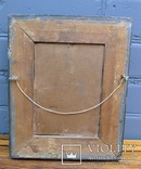 """Старинная картина в рамке """"Украиночка с зеркальцем"""" подписная. photo 9"""