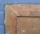 """Старинная картина в рамке """"Украиночка с зеркальцем"""" подписная. photo 10"""