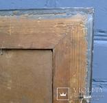 """Старинная картина в рамке """"Украиночка с зеркальцем"""" подписная. photo 11"""