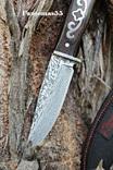 Нож волк под Дамаск. Заводская заточка …..