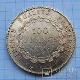 100 франков 1908 г. Франция (Ангел) photo 2