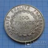 100 франков 1908 г. Франция (Ангел) photo 6