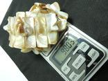 Ожерелье с кулоном + браслет из раковины настоящего жемчуга, фото №8