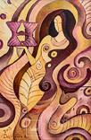 Картина Трипільянка. 60х40. Полотно, акрил. 2015 photo 1