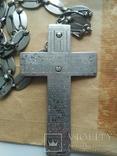 Наградной наперсный «Павловский» крест Серебро 84 проба photo 7