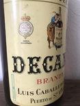 """Хересный бренди,,Decano"""".Испания.2,5л.1969 photo 2"""