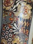 Интерьерная высокая китайская ваза в росписи., фото №5