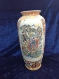 Интерьерная высокая китайская ваза в росписи., фото №10