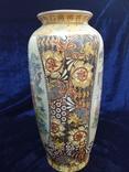 Интерьерная высокая китайская ваза в росписи., фото №11