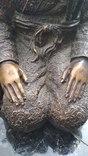 Самураи , бронза 10 кг photo 6