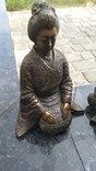 Самураи , бронза 10 кг photo 9