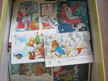 Ящик открыток С Новым годом более 500 шт