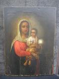 "Икона ""Матерь Божия"". 34х25х2см.. photo 1"