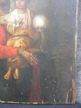 "Икона ""Матерь Божия"". 34х25х2см.. photo 4"