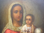 "Икона ""Матерь Божия"". 34х25х2см.. photo 7"