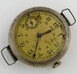 Часы наручные серебро НКОМ 15 камней 1 ГЧЗ им. Кирова Москва СССР 1941 год на ходу photo 5