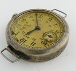 Часы наручные серебро НКОМ 15 камней 1 ГЧЗ им. Кирова Москва СССР 1941 год на ходу photo 8