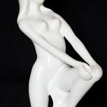 Фарфоровая фигурка, высота 25 см, клеймо Контендорф photo 6