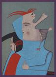 Михаил Шемякин (1943 г.р.) оригинальная литография photo 2
