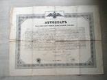 Одесса 1845 аттестат ремесленной управы