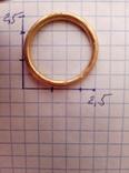 Золото кольцо по ЧК 6.50гр. photo 2